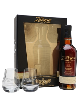 Ron zacapa sistema solera 23 glass pack the whisky for Food bar zacapa