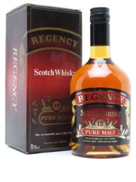 regency 12 year old 70cl 40 % blended malt scotch whisky
