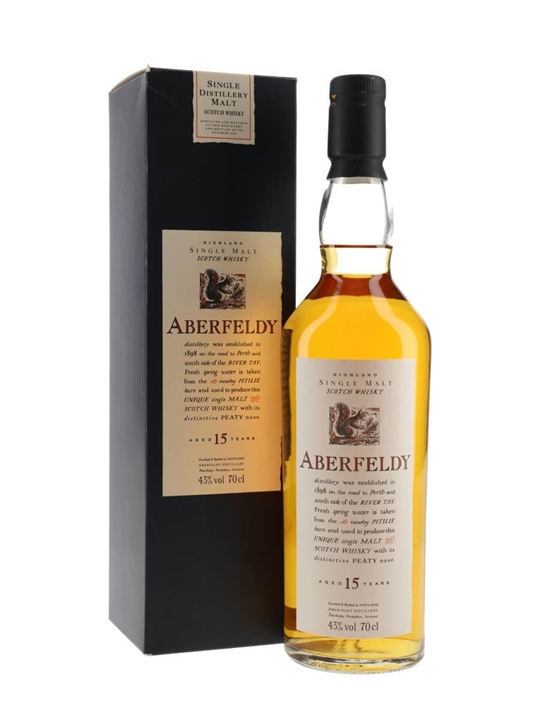Aberfeldy 15 Year Old Highland Single Malt Scotch Whisky