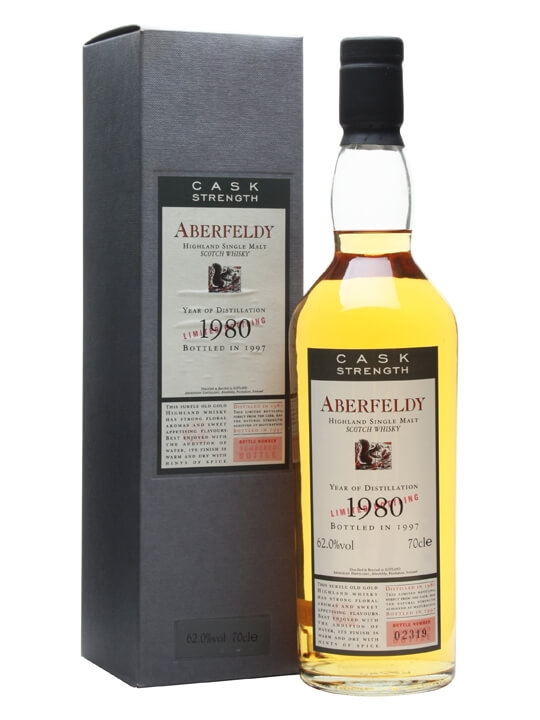 Aberfeldy 1980 / 17 Year Old Highland Single Malt Scotch Whisky