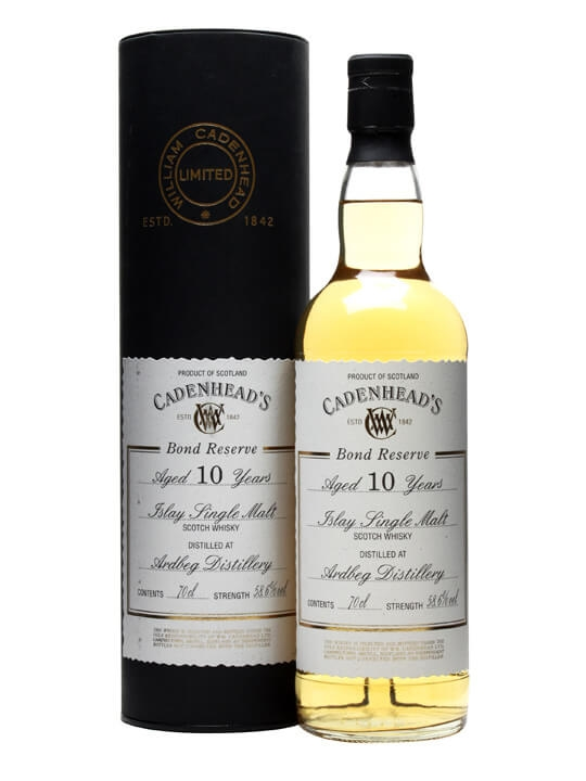 Ardbeg 10 Year Old / Cadenhead's Bond Reserve Islay Whisky