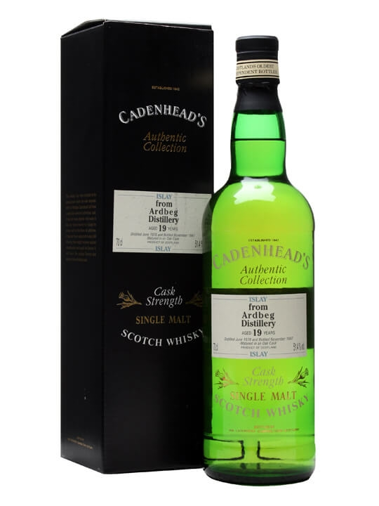 Ardbeg 1978 / 19 Year Old / Cadenhead's Islay Whisky