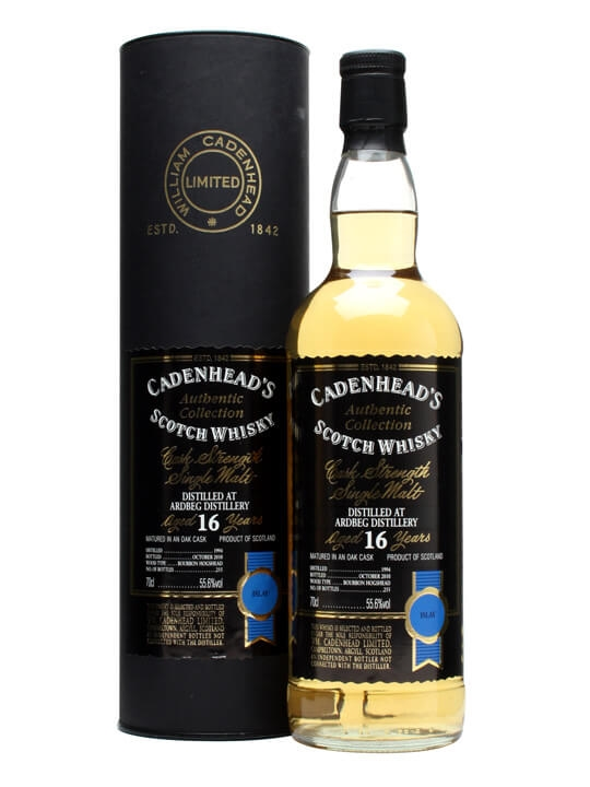 Ardbeg 1994 / 16 Year Old / Cadenhead's Islay Whisky