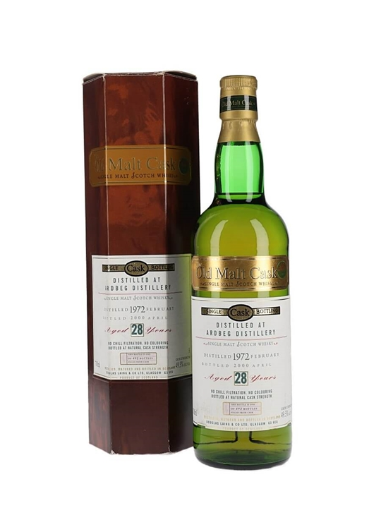 Ardbeg 1972  28 Year Old Islay Single Malt Scotch Whisky