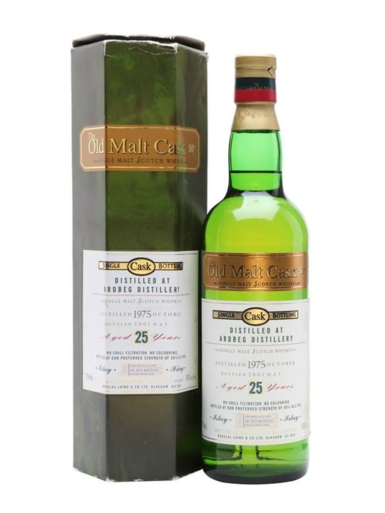 Ardbeg 1975 / 25 Year Old Islay Single Malt Scotch Whisky