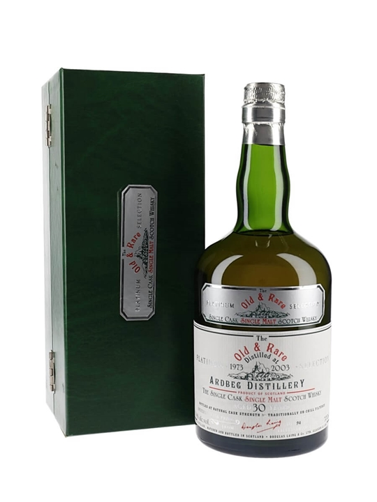 Ardbeg 1973 / 30 Year Old Islay Single Malt Scotch Whisky