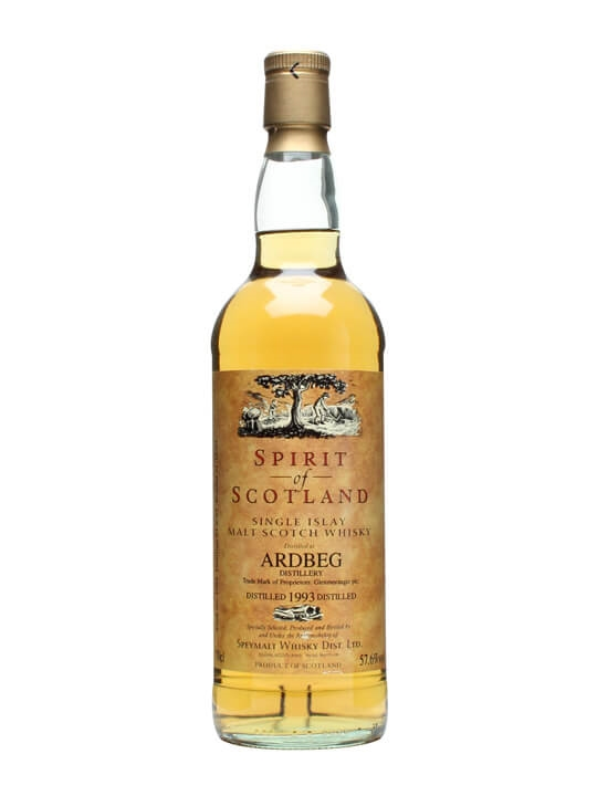 Ardbeg 1993 / 10 Year Old / Spirit of Scotland Islay Whisky