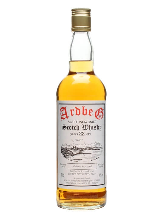Ardbeg 1974 / 22 Year Old Islay Single Malt Scotch Whisky