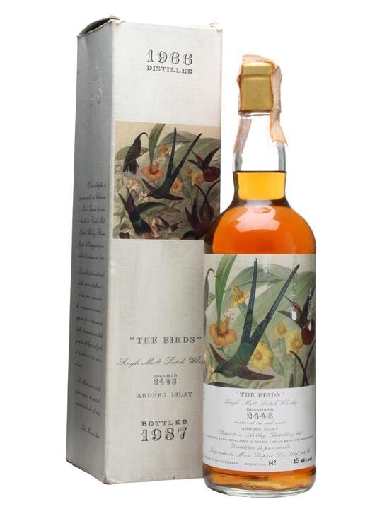 Ardbeg 1966 / Bot. 1987 / The Birds Islay Single Malt Scotch Whisky