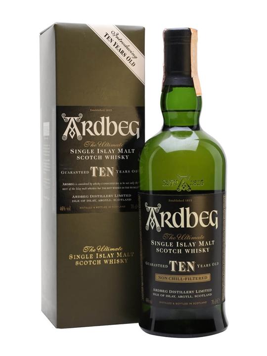 "Ardbeg 10 Year Old / ""introducing"" Islay Single Malt Scotch Whisky"