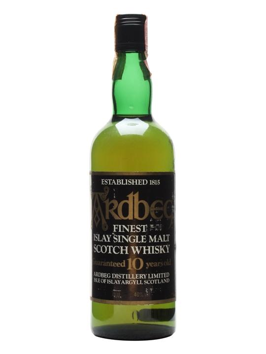 Ardbeg 10 Year Old / Bot.1980s Islay Single Malt Scotch Whisky
