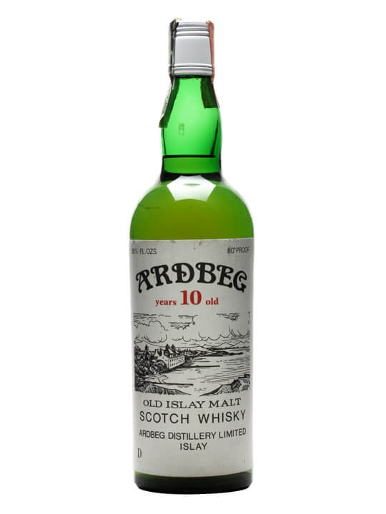 Ardbeg 10 Year Old / Bot.1960s Islay Single Malt Scotch Whisky