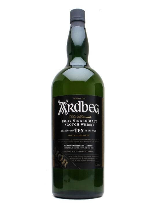 Ardbeg 10 Year Old 'MOR' Islay Single Malt Scotch Whisky