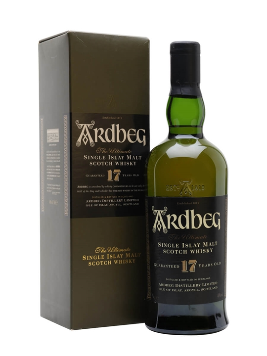 Ardbeg 17 Year Old Islay Single Malt Scotch Whisky