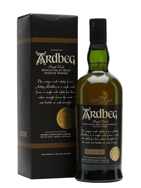 Ardbeg 1974 / Cask 3475 Islay Single Malt Scotch Whisky
