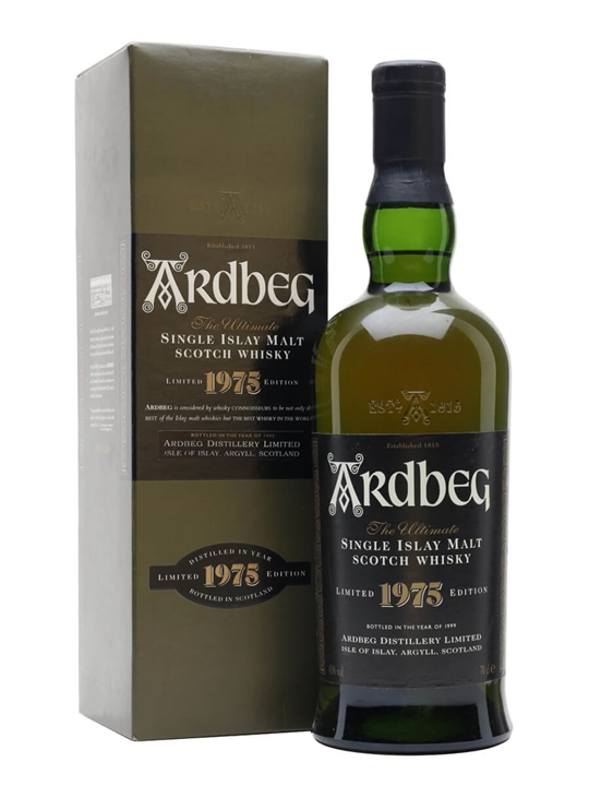 Ardbeg 1975 / Bot 1999 Islay Single Malt Scotch Whisky