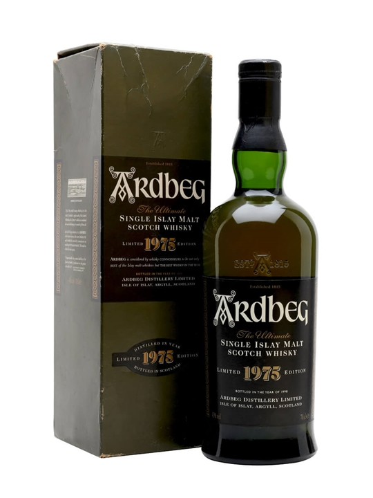 Ardbeg 1975 / Bot.1998 Islay Single Malt Scotch Whisky