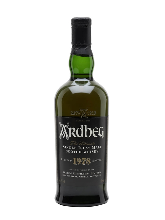 Ardbeg 1978 (42.4%) Islay Single Malt Scotch Whisky