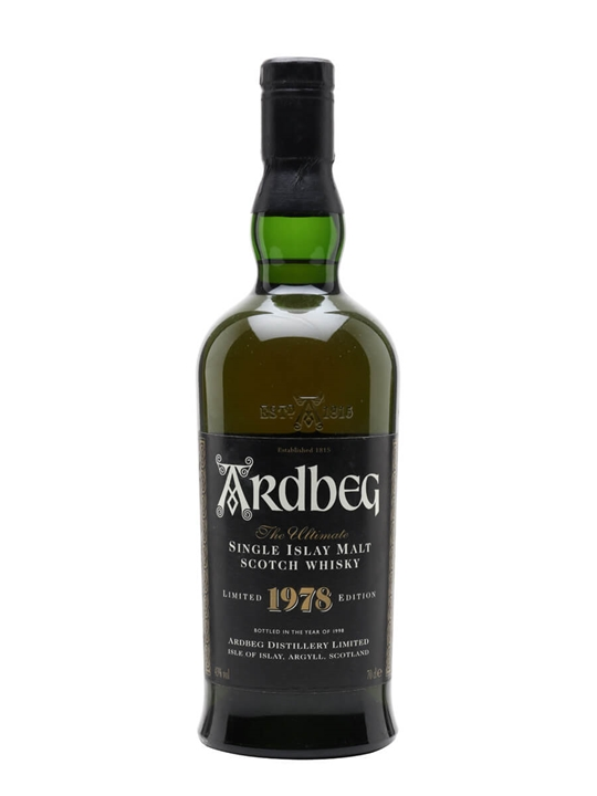 Ardbeg 1978 / Bot.1998 Islay Single Malt Scotch Whisky