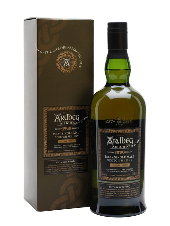 Ardbeg 1990 / Airigh Nam Beist Islay Single Malt Scotch Whisky