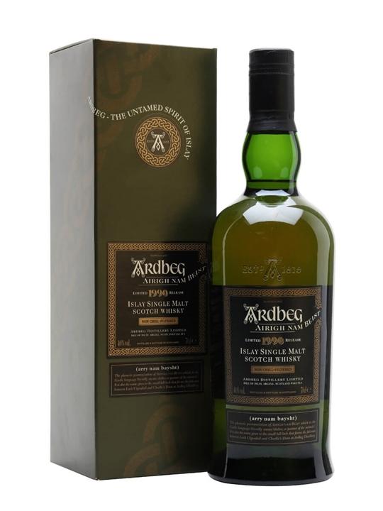 Ardbeg 1990 / Airigh Nam Beist Islay Single Malt Scotch Whisky