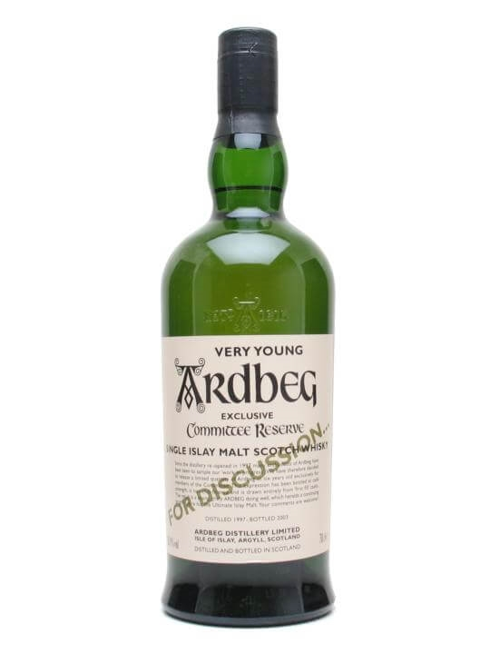 Ardbeg 1997 'very Young' For Discussion Islay Whisky