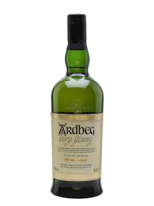 Ardbeg 1998 / Very Young Islay Single Malt Scotch Whisky