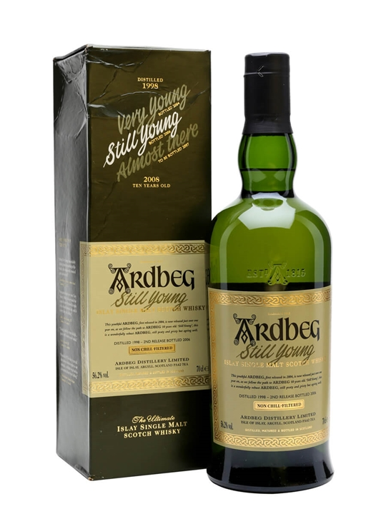Ardbeg 1998 - Still Young Islay Single Malt Scotch Whisky