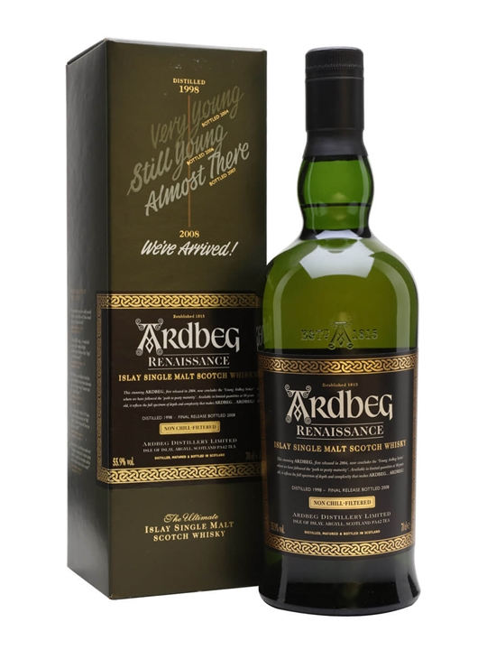 Ardbeg 1998 / Renaissance Islay Single Malt Scotch Whisky