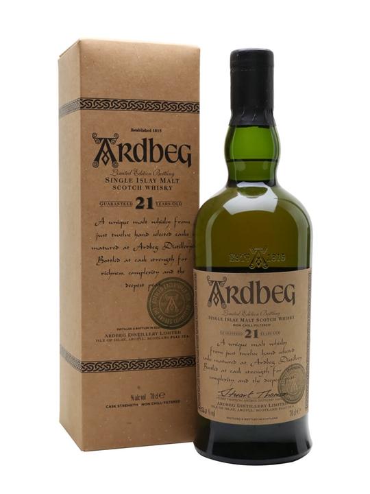 Ardbeg 21 Year Old / Committee Bottling Islay Whisky