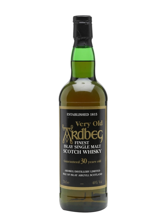 Ardbeg 30 Year Old / Bot.1990s Islay Single Malt Scotch Whisky
