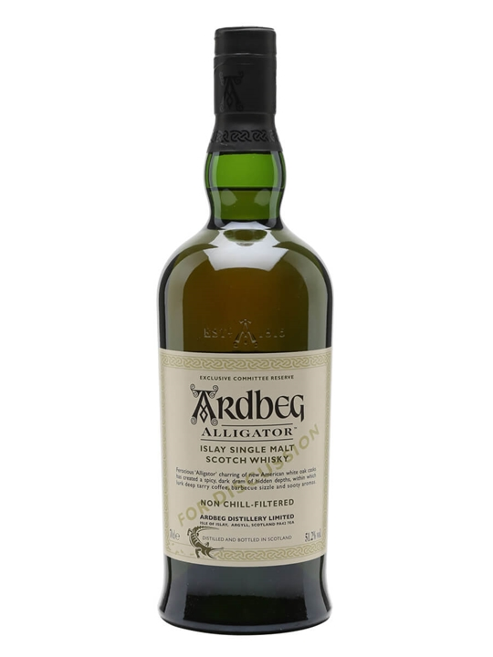 Ardbeg Alligator / Committee Reserve Islay Single Malt Scotch Whisky