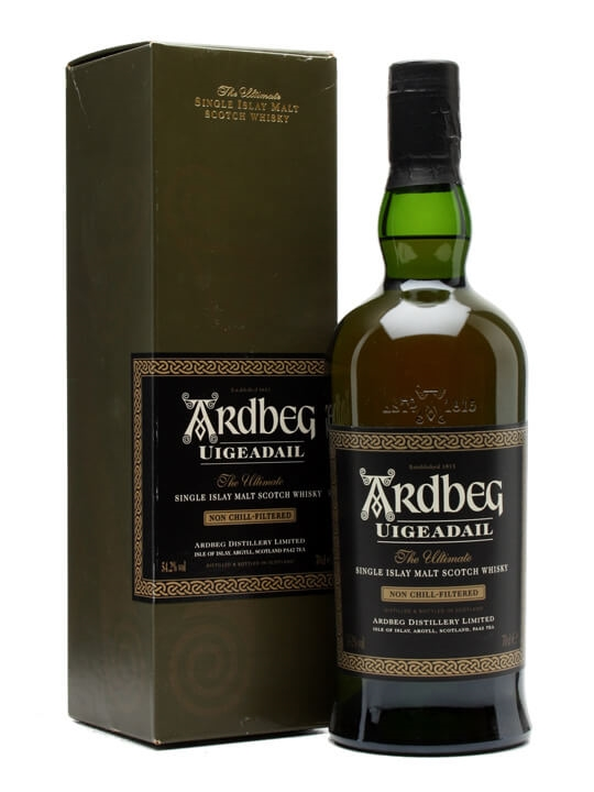 Ardbeg Uigeadail / Bot.2004 Islay Single Malt Scotch Whisky
