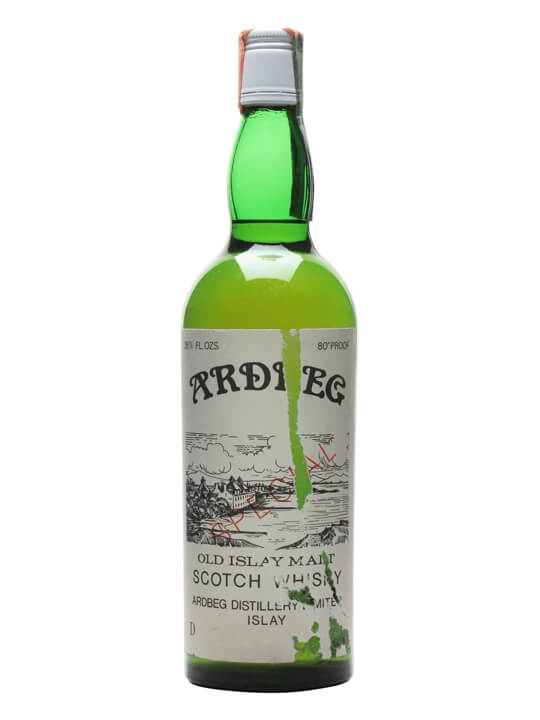 Ardbeg Special  Bot.1960s Islay Single Malt Scotch Whisky
