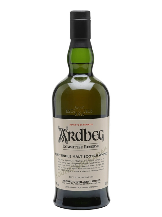 Ardbeg Oogling / Committee Reserve Islay Single Malt Scotch Whisky