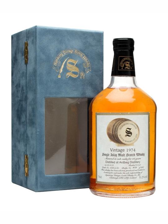 Ardbeg 1974 / 23 Year Old / Cask #1063+65 Islay Whisky