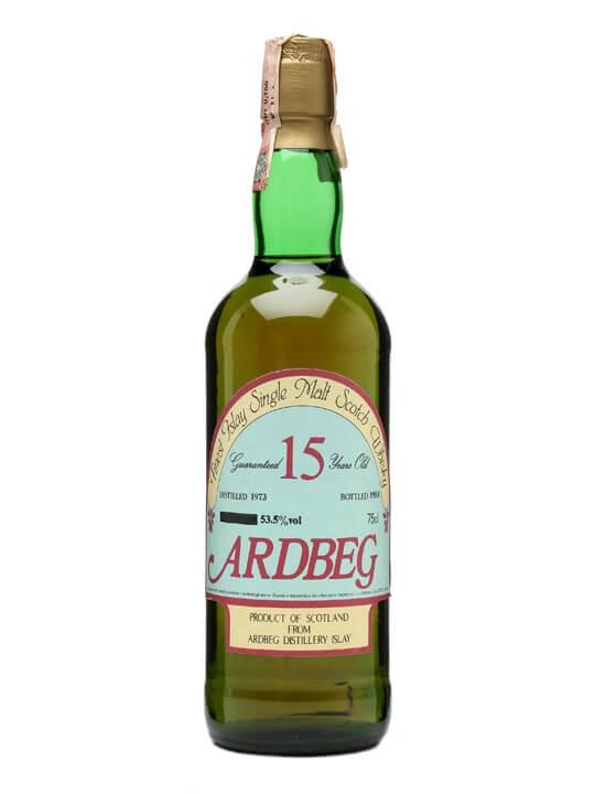 Ardbeg 1973 / 15 Year Old / Bot.1988 / Cask Strength / Sestante Islay Whisky