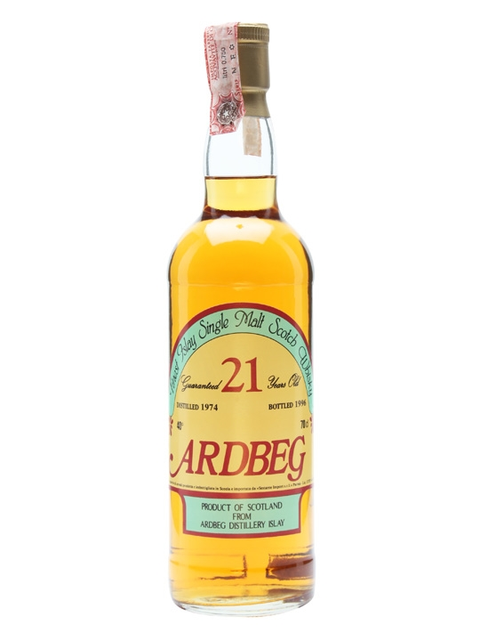 Ardbeg 1974 / 21 Year Old / Sestante Islay Single Malt Scotch Whisky