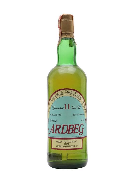 Ardbeg 1978 / 11 Year Old / Sestante Islay Single Malt Scotch Whisky