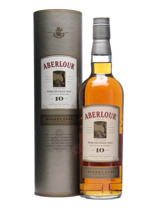 Aberlour 10 Year Old / Sherry Finish Speyside Whisky