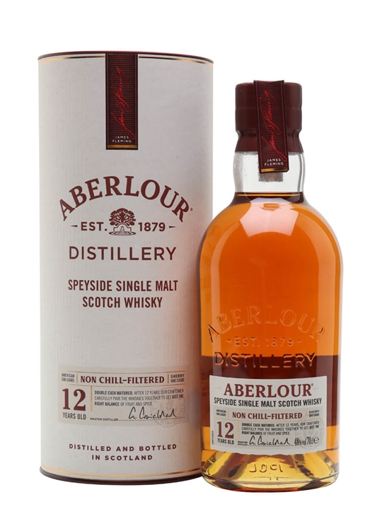 Aberlour 12 Year Old / Non Chill-filtered Speyside Whisky