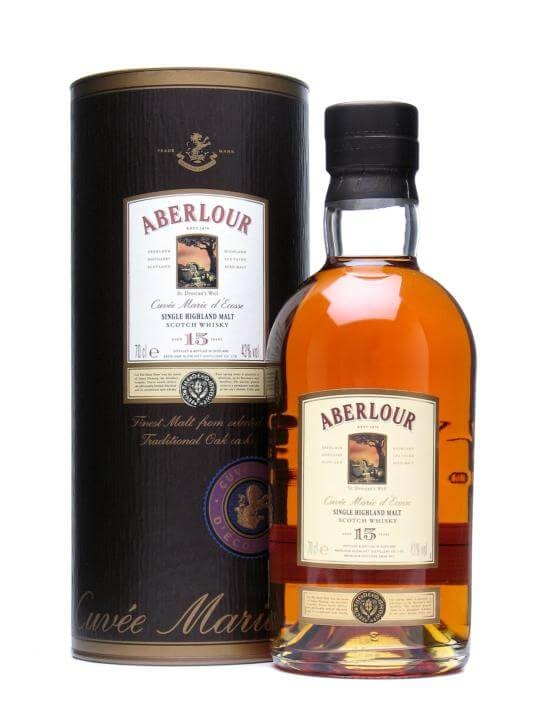 Aberlour 15 Year Old / Cuvée Marie D'ecosse Speyside Whisky