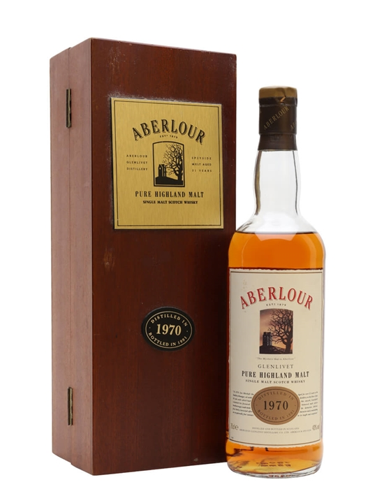 Aberlour 1970 / 21 Years Old / Bot.1991 Speyside Whisky
