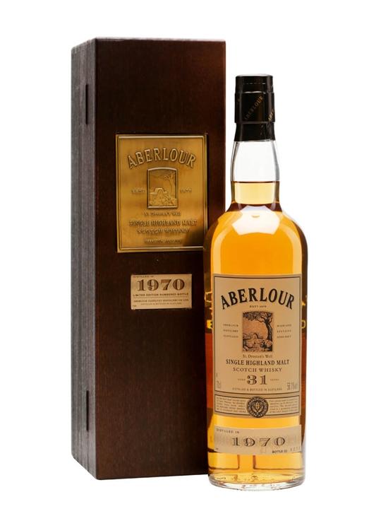 Aberlour 1970 / 31 Year Old Speyside Single Malt Scotch Whisky
