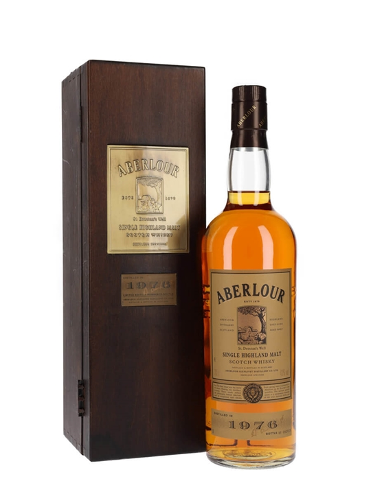 Aberlour 1976 / 22 Year Old Speyside Single Malt Scotch Whisky