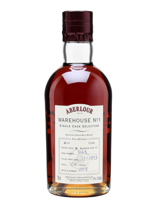 Aberlour 1993 / 14 Year Old / Sherry Cask #3163 Speyside Whisky