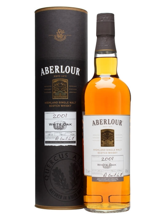 Aberlour 2001 / White Oak Speyside Single Malt Scotch Whisky