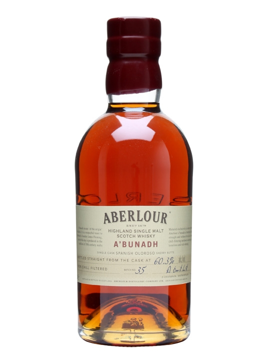Aberlour A'bunadh / Batch 35 Speyside Single Malt Scotch Whisky