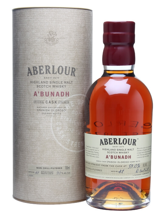 Aberlour A'bunadh / Batch 41 Speyside Single Malt Scotch Whisky