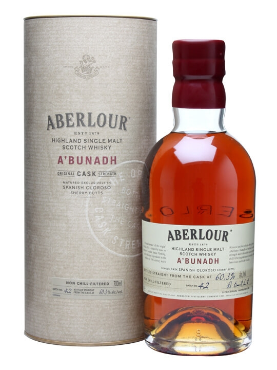 Aberlour A'bunadh / Batch 42 Speyside Single Malt Scotch Whisky